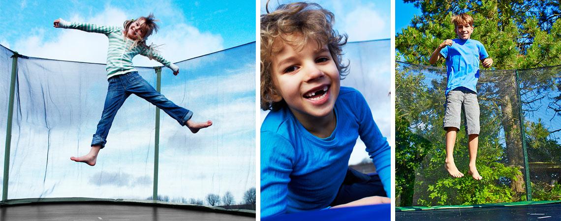 Svært Trampoline Safety for Children   JYSK UF-05