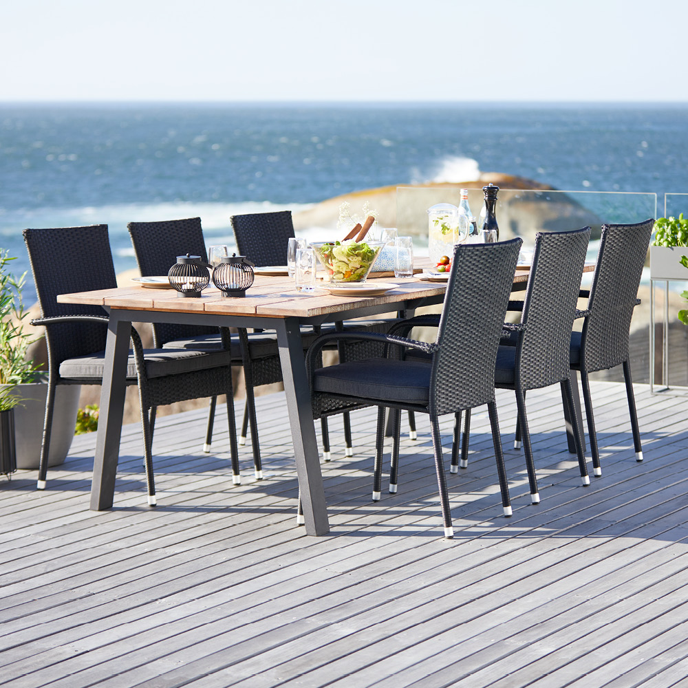 Light chairs and a smaller table will give you plenty of flexibility whatever your patio plans are youll find plenty of solutions at jysk
