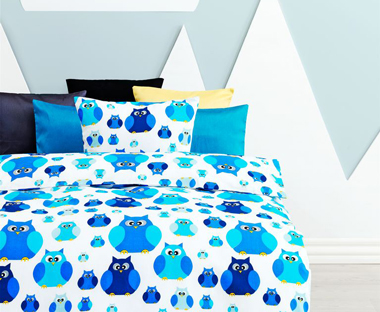 Blue toddler bedding sets for girls and boys