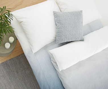 feather pillows from JYSK