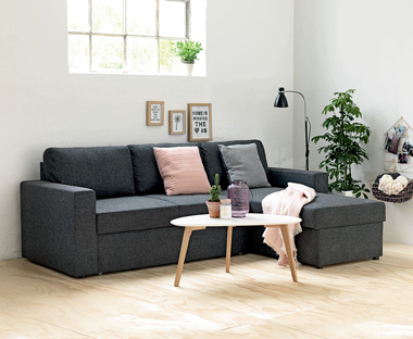 Stylish and comfortable sofa bed from JYSK