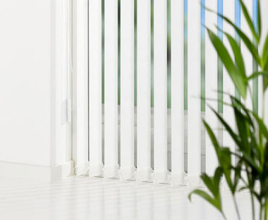 Vertical blinds for homes or offices