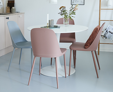 Colourful Dining Chairs For A Unique Dining Room Look