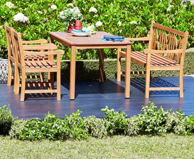Wooden Garden Furniture Wooden Garden Table And Tables Jysk