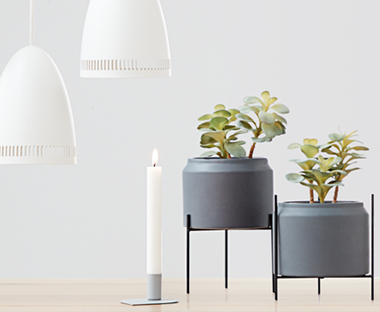 Keep it simple with a Scandinavian style candle stick