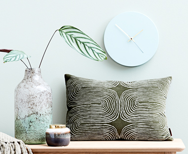 Add colour to your walls with a statement clock