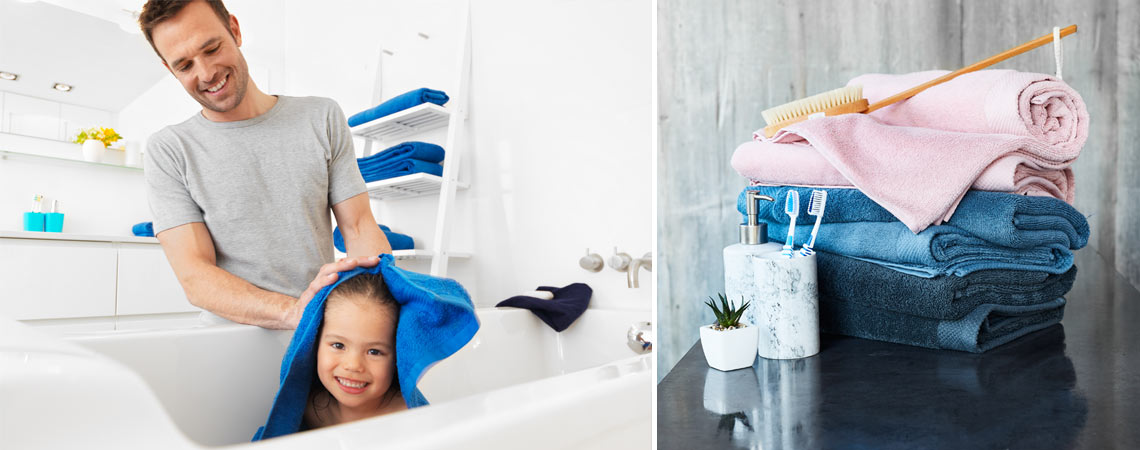 ways to keep your towels soft and fluffy