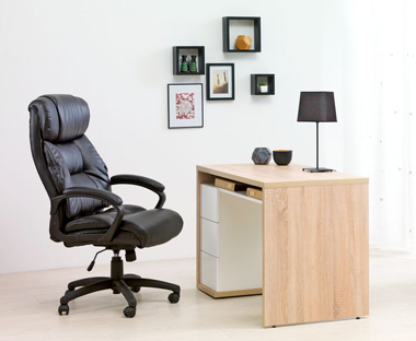Comfortable black office chair