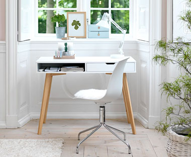 Stylish Scandinavian styled home office