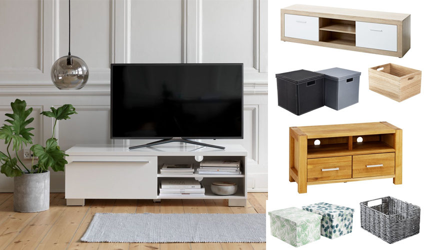 A Great Way Of Doing This Is To Pick TV Stand With Drawers Or Cupboards In Order Hide Away Any Mess From Wires Remotes And DVDs