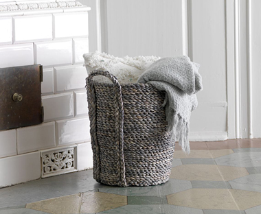 Baskets Wicker And Metal Baskets For Storage Jysk