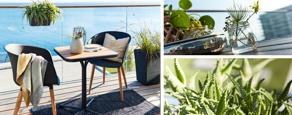 Balcony furniture and patio furniture from JYSK