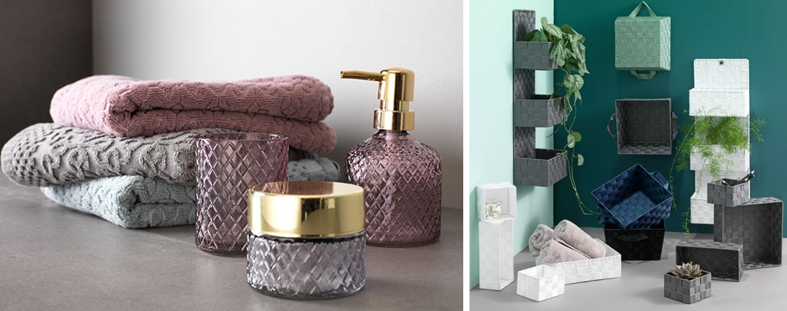 Storage tips for a small bathrooom