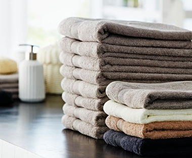 bath towels and hand towels from JYSK