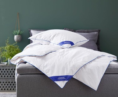 Duck down feather duvets online at JYSK
