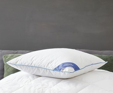 feather pillows in-store and online