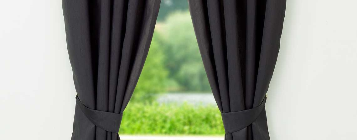 clean your curtains and blinds