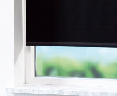 Easy to install blackout blinds