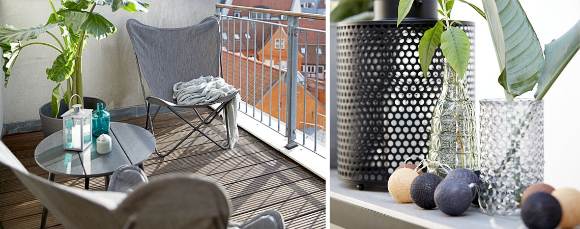 Patio and balcony ideas for small spaces | JYSK