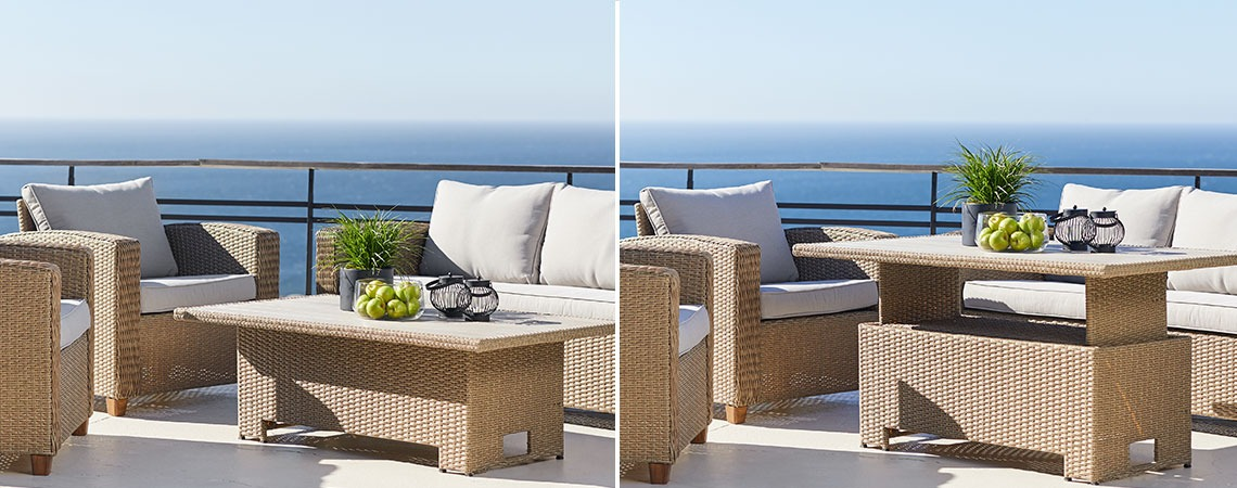 Garden patio ideas that saves you space and money | JYSK
