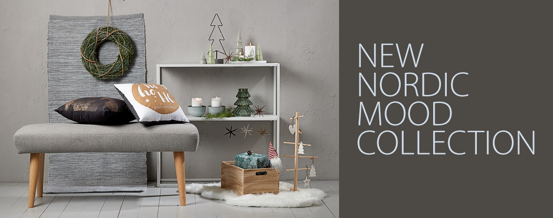 New Nordic Mood collection for a stylish Christmas