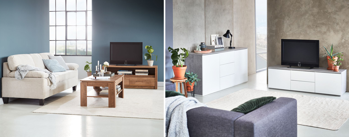Tv Stand Decor Integrate Your Tv In The Living Room Decoration Jysk