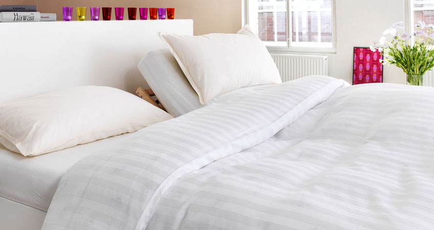 Bed and mattress guide with JYSK