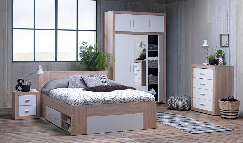 Give a Nordic look to your bedroom space at JYSK
