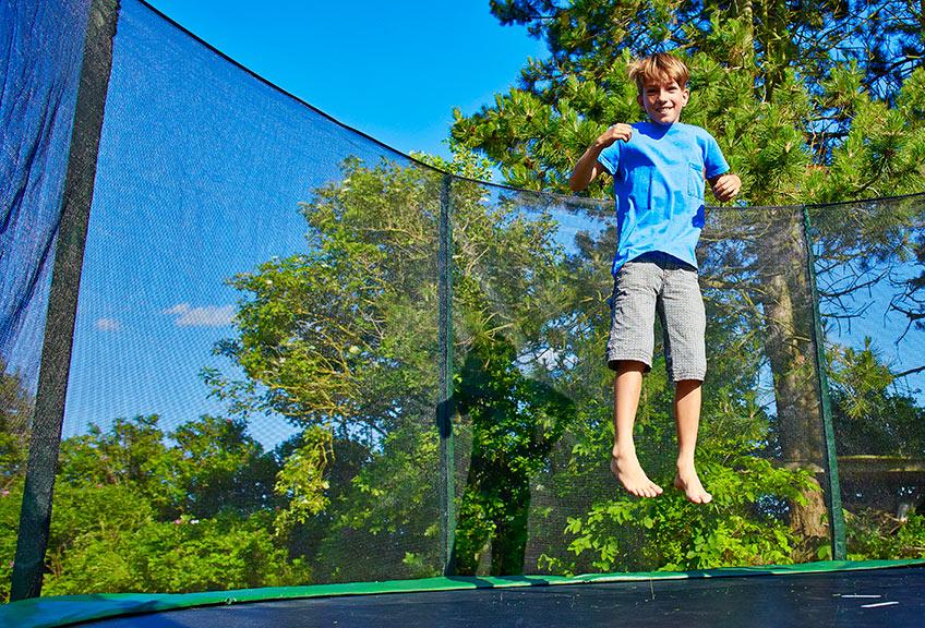 Ypperlig Trampoline Safety for Children   JYSK NI-52