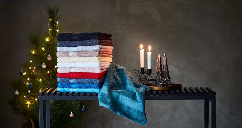 Towels as Christmas gifts
