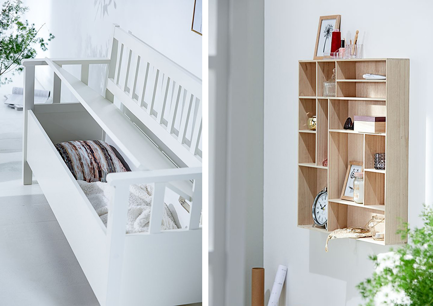 Hallway storage and decoration ideas from JYSK