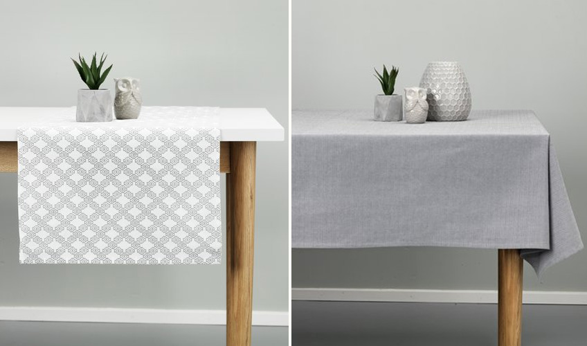 Tablecloths and table linen from JYSK