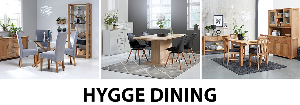 Dining rooms with added hygge at JYSK