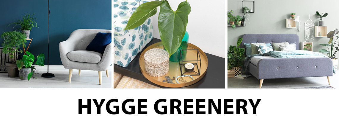 Touches of greenery in your home to create hygge