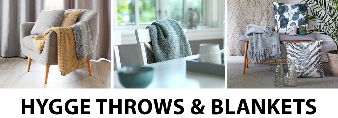 Create hygge with throws and blankets from JYSK