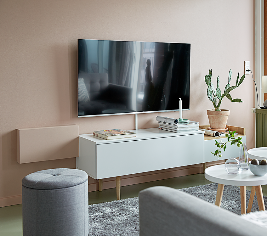 Floating TV ideas and designs from JYSK