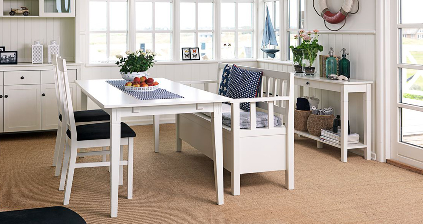 Space Saving Table And Chairs With Dining Benches At JYSK