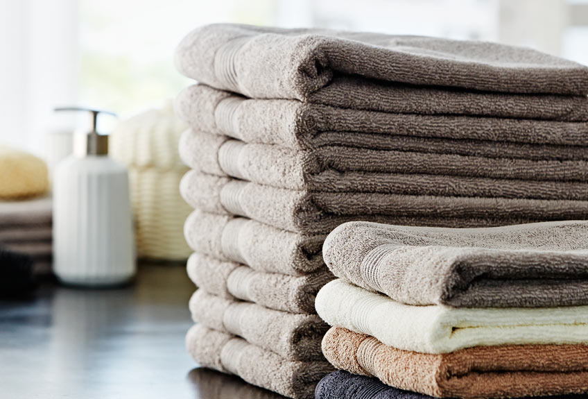 soft and cosy towels from JYSK
